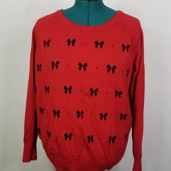 Red Torrid  sweater torrid sz 2